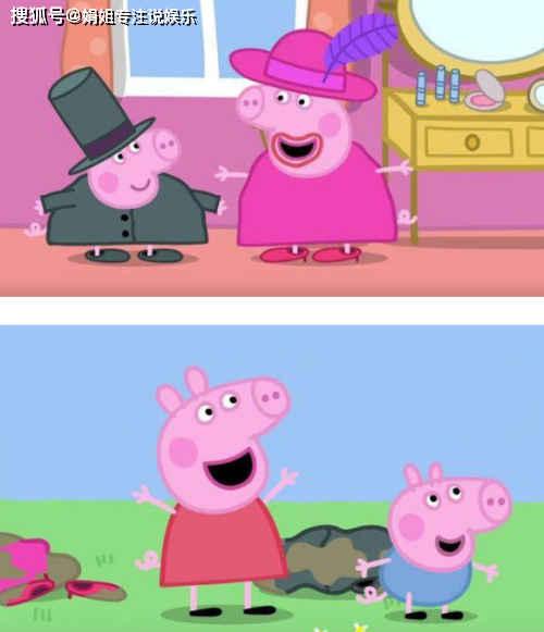 原创《小猪佩奇》谜之穿帮:佩奇的鼓会悬空漂浮,最后一个笑出眼泪!