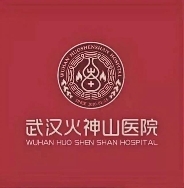 火神山logo含义是什么?医院主题logo设计技巧+案例图片