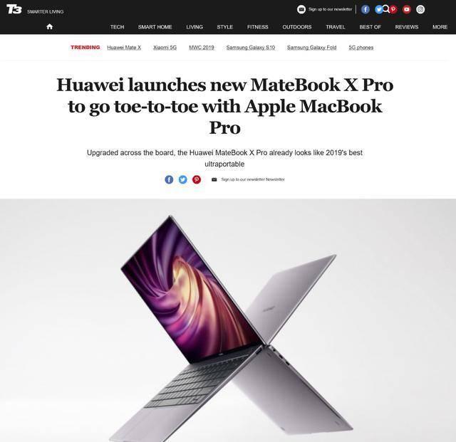 2月24日华为MateBook X Pro 2020款来袭 全场景智慧带来全新功能