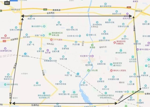重磅!潍坊北海路、宝通街、玄武街、西外环....快速化改造启动!