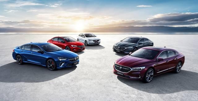 年内推出超过10款新车 别克公布了多款新车官方地图