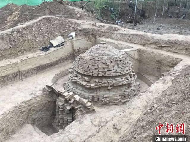 广宗县大王村古墓