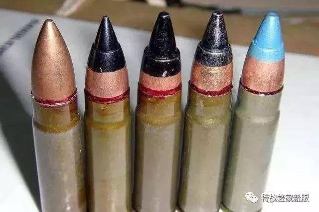这种规格的子弹很特别,包括sp-5普通弹和sp-6穿甲弹,是俄罗斯特有的