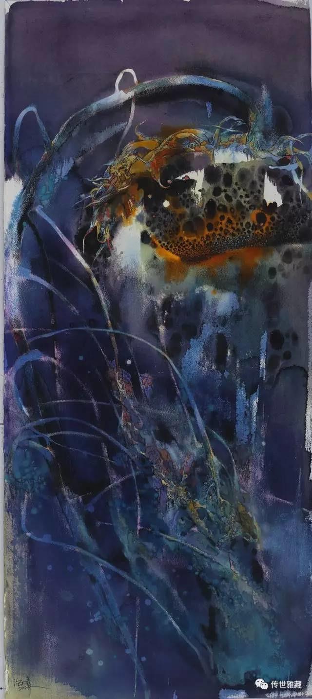 苏海青艺术馆展出诸多精品水彩画作品