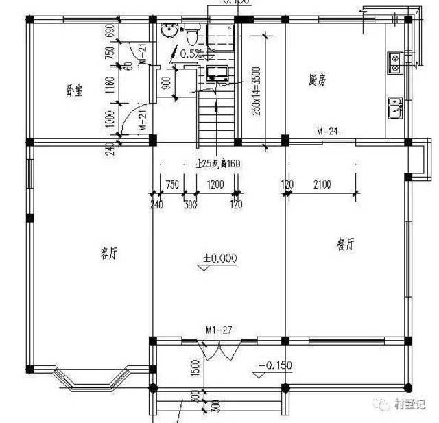 7米 占地面积:140平方米 建筑面积:318平方米 结构形式:砖混结构 主体