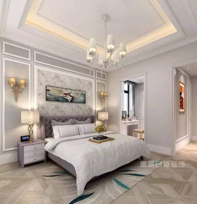 别墅装修:311新古典风格,法式别墅装修效果图!图片