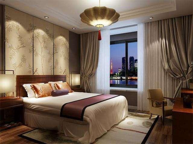 20款惊艳朋友圈的中式卧室设计, 月亮门超赞