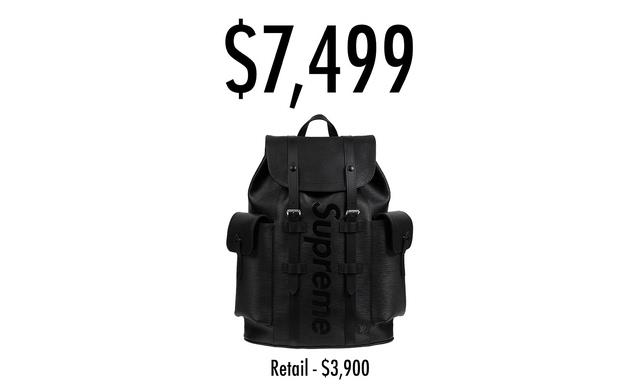 10万一件!supreme x lv在ebay最高成交价如此疯狂