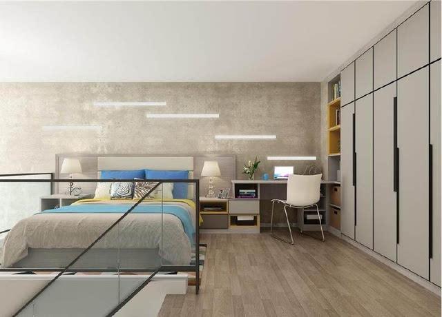复式公寓楼装修效果图图片