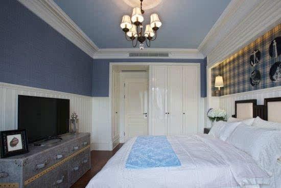 头一次见卧室衣柜这样装,太漂亮了,吊顶也美爆了