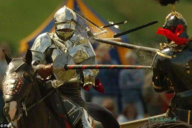 欧洲中世纪骑士长矛和刺靶:如何练习骑枪冲锋?图片