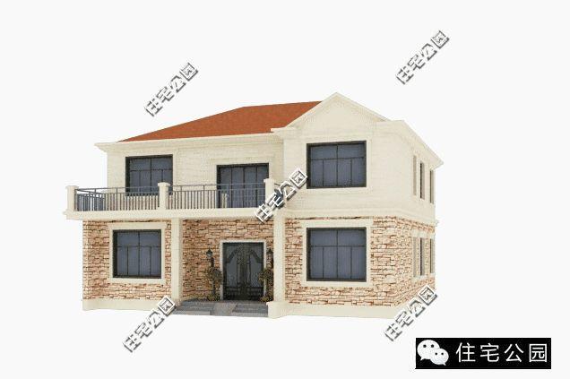 5套二层自建别墅户型,中式欧式现代你最爱哪套?