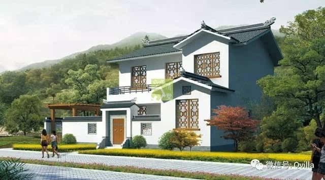 十套二层新农村自建别墅设计方案连载(五)