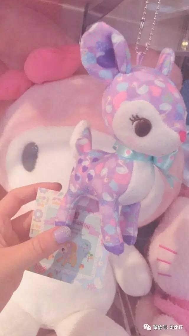 玉兰墙纸女子扮相-Phone高清壁纸,粉色少女心图片