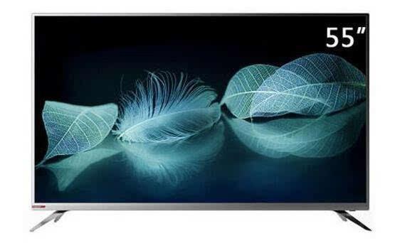 创维55v6液晶电视采用原装4色4k屏,清晰度是1080p全高清电视的4倍