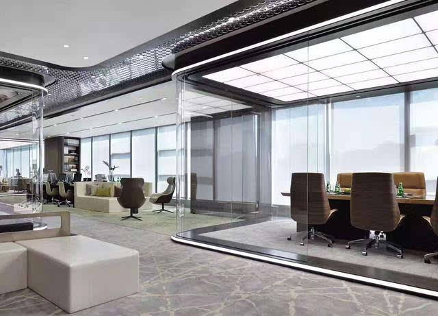 电视剧《我的前半生》里的奢华办公室设计装修索尼墙纸内置手机动态图片