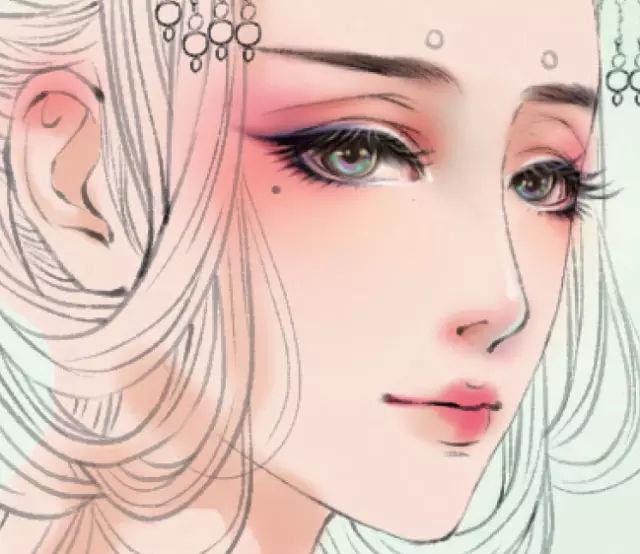 详细步骤演示用ps绘画古装美女!