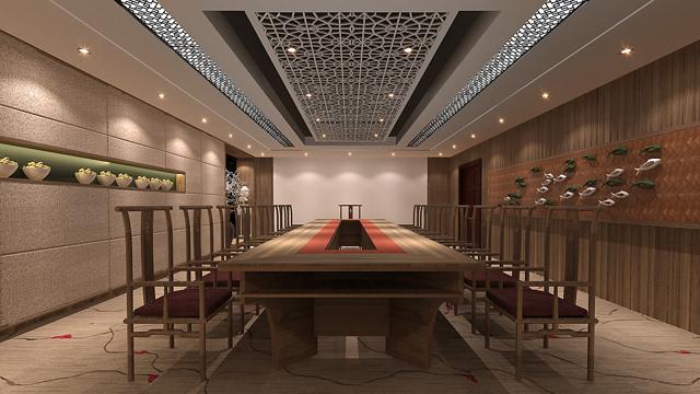 中建联艺:新中式办公室装修的三大忌