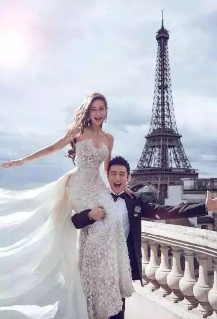 明星结婚拍婚纱照的时候最喜欢发型有哪些?图片