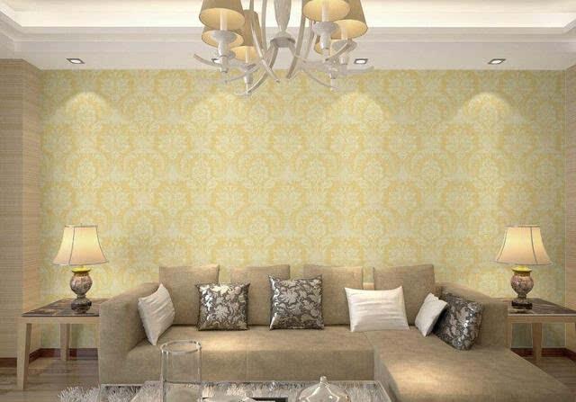 欧式风格墙布的特点效果
