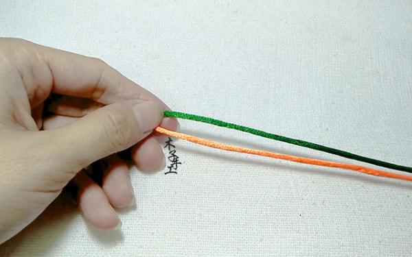 根本没想过自己做,现在大家可以自己做红绳手链了,编法也是非常简单的