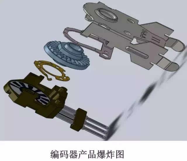 机械式鼠标结构图