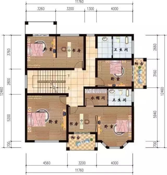 7x12米建房设计图
