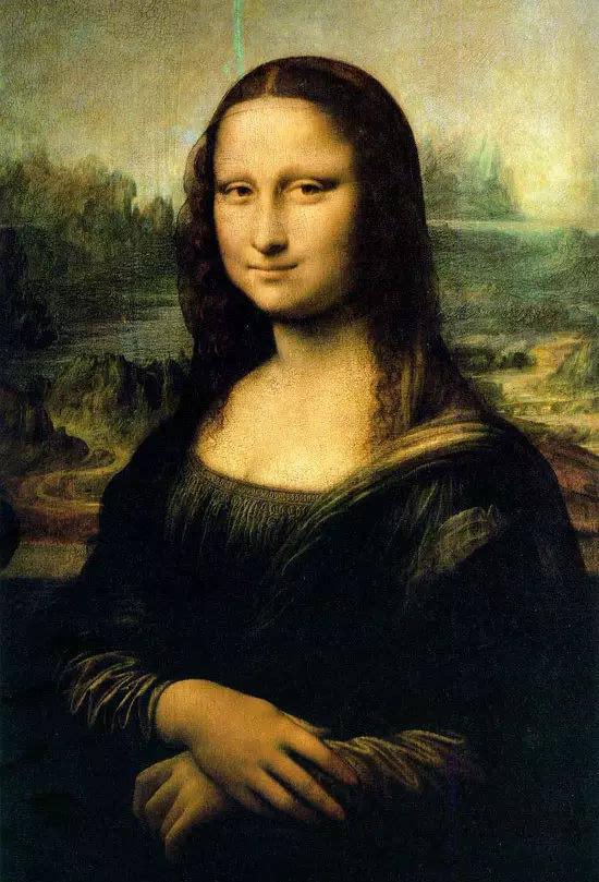 达芬奇《蒙娜丽莎》图片