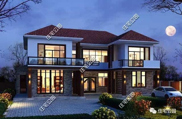10套合院别墅,第2中式第4两个实建案例哪个更美?