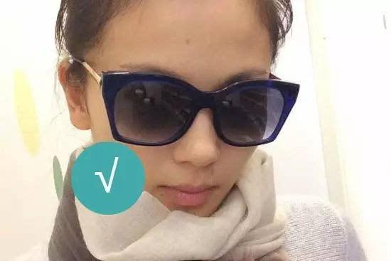 不适合眼镜:狭长的长方形镜框 面部棱角分明 颌骨区较高,较宽 脸的侧