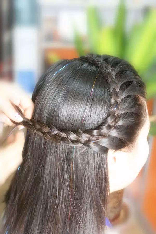 千寻盘发|适合夏天的清爽盘发,稳重典雅,太美了图片