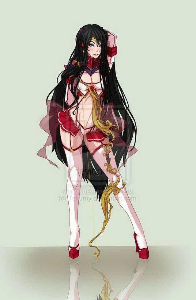 美少女战士也加入双斩少女,让人喷鼻血的操作