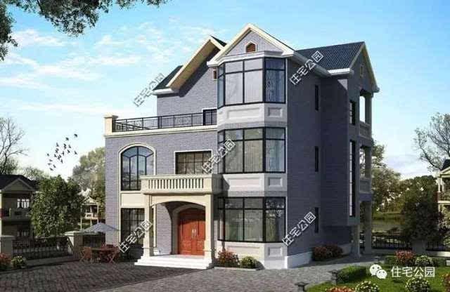 6套农村自建房方正户型, 要现代还是欧式别墅?