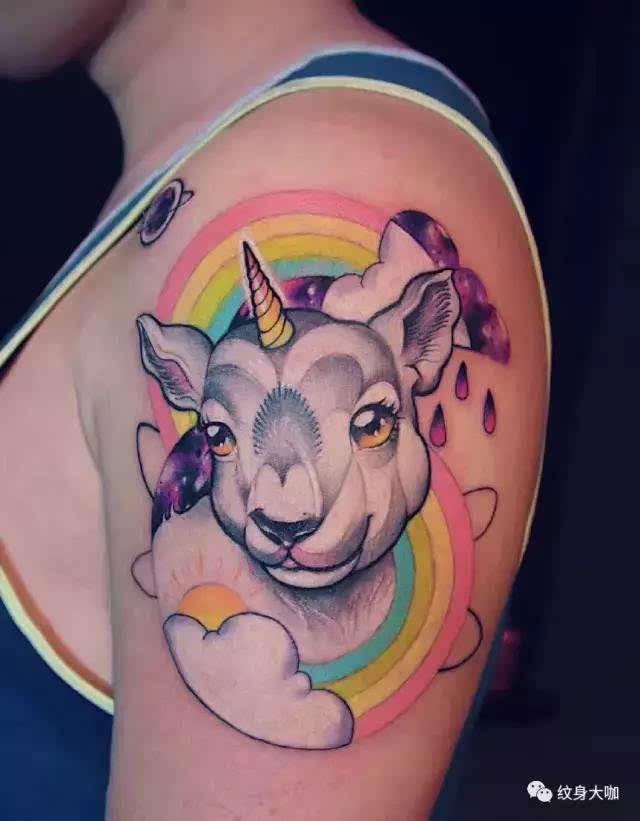 你有没有为了一个生命去纹身?