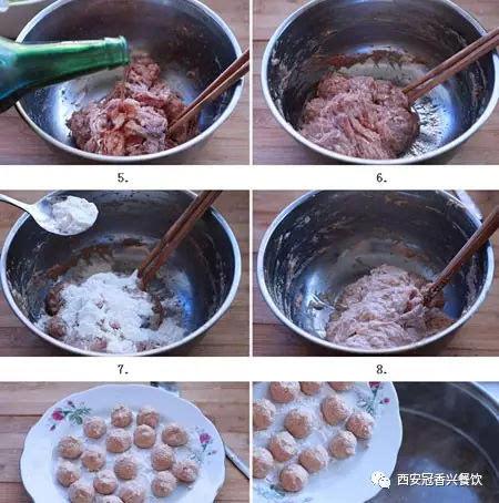 西安清真肉丸胡辣汤制作方法肉丸胡辣汤制作步骤!