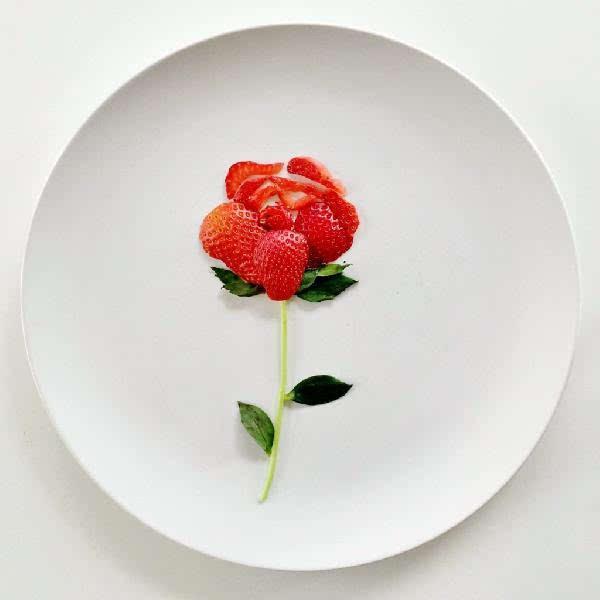 蔬菜和水果什么的已经不怎么新奇了,花朵和动物才是高难度挑战.