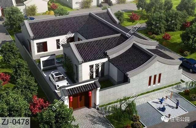 中式四合院,把房子赋予情怀,才是真正的家!图片
