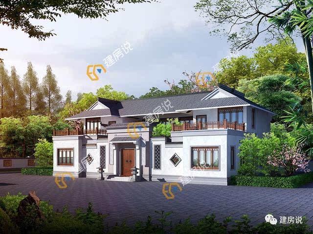 现在农村建房大多数都是欧式风格的别墅,或是现代化的洋楼,虽然好看