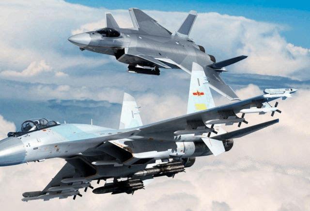 亚洲美囌͜_一战机被中国接手后,与j20形成亚洲最强战机组合
