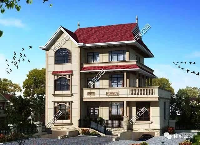 5套农村别墅尽显欧式庄园之美,比中式更适合农村