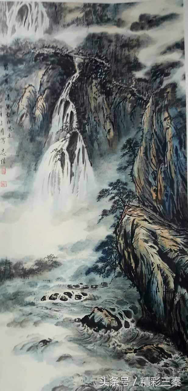 当代书画大师汪志信的书画人生图片