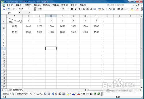 用excel2003v狐狸折狐狸方法图解小线图图解图片