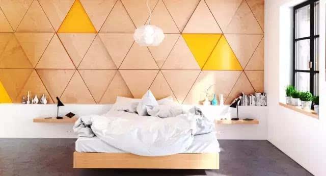 床头背景墙现在都爱这么设计,难以置信!图片