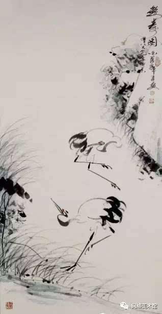 这是辉夏在丹顶鹤身上提炼出的美的形态,也是辉夏追求的人生境界.