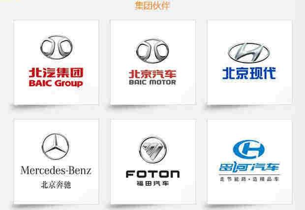 北汽旗下有众多的品牌,比如说北京现代,北京奔驰,福田,昌河,北京汽车