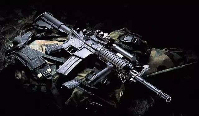 56毫米风冷气动弹匣供弹步枪,具有通过导气管由高压气体直接推动机框图片