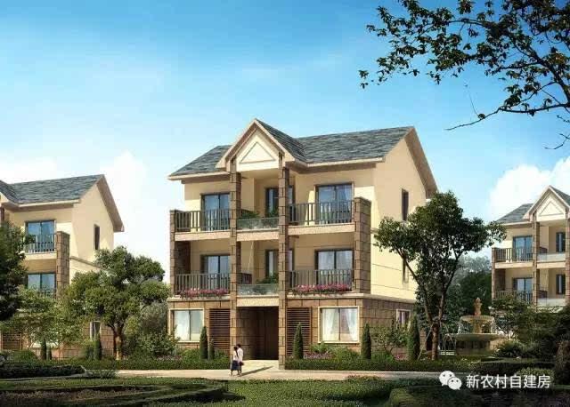 3套新农村别墅,中式风格,非常适合建在农村