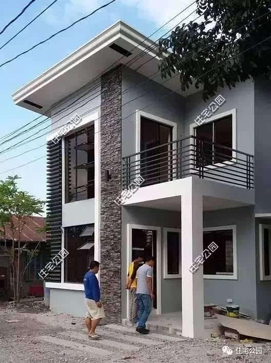 15万自建7x10米二层农村别墅,建成后比效果图美?