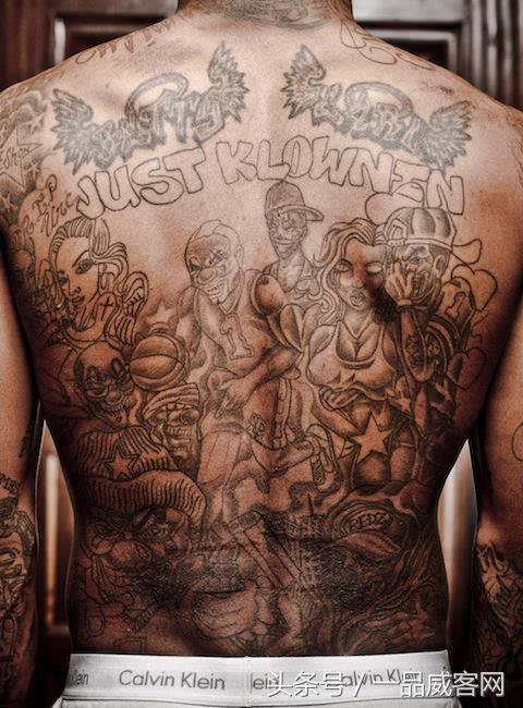 nba球员超半数有纹身,纹身背后的故事,你知道吗