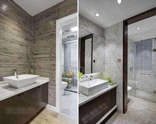 小户型卫生间装修技巧让你拥有大空间